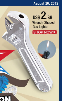 Wrench Shaped Gas Lighter