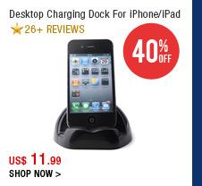 Desktop Charging Dock For iPhone/iPad