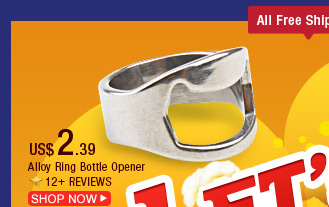 Alloy Ring Bottle Opener