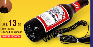 Beer Bottle Shaped Telephone