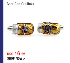 Beer Can Cufflinks