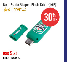 Beer Bottle Shaped Flash Drive (1 GB)