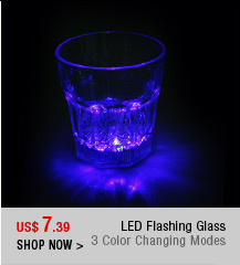 LED Flashing Glass
