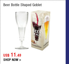 Beer Bottle Shaped Goblet