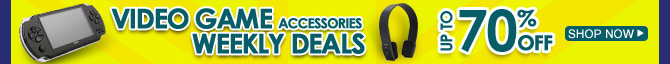 Video Game Accessories Weekly Deals