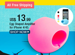 Egg Shaped Amplifier for iPhone 4/4S