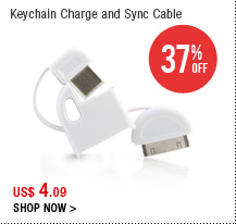 Keychain Charge and Sync Cable