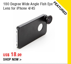 180 Degree Wide Angle Fish Eye Lens for iPhone 4/4S