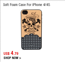 Soft Foam Case For iPhone 4/4S
