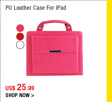 PU Leather Case With Stand