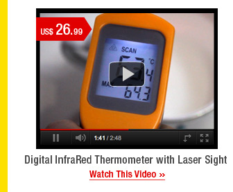 Digital InfraRed Thermometer with Laser Sight