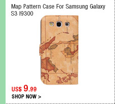 Map Pattern Case For Samsung Galaxy S3 I9300