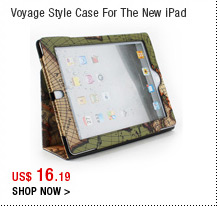 Voyage Style Case For The New iPad