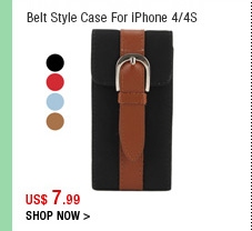 Belt Style Case For iPhone 4/4S