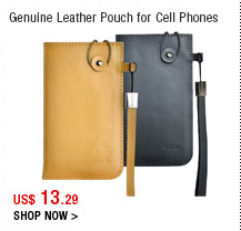 Genuine Leather Pouch for Cell Phones