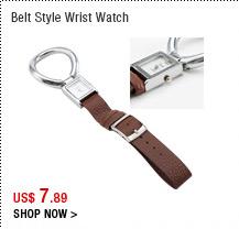Belt Style Wrist Watch