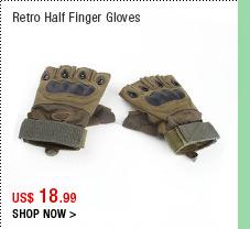 Retro Half Finger Gloves