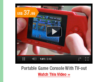 Portable Game Console With TV-out