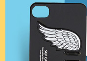 Angel Wings Pattern Back Case For iPhone 4/4S