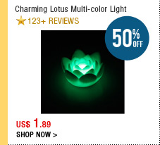 Charming Lotus Multi-color Light