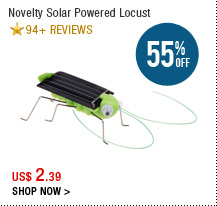 Novelty Solar Powered Locust