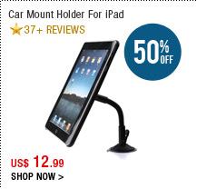 Car Mount Holder For iPad