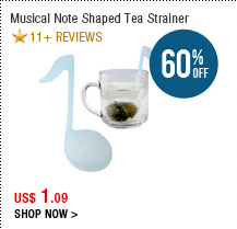 Musical Note Shaped Tea Strainer