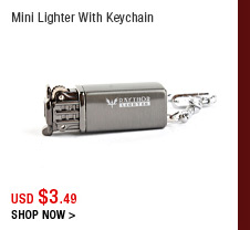 Mini Lighter With Keychain