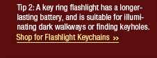Shop for Flashlight Keychains>>