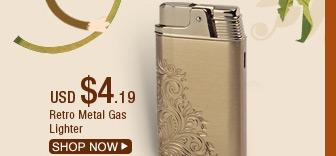 Retro Metal Gas Lighter