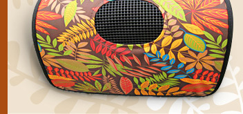 Autumn Leaves Pattern Pet Carrier