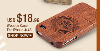 Wooden Case For iPhone 4/4S