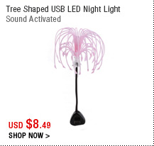 Tree Shaped USB LED Night Light