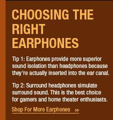 Choosing The Right Earphones