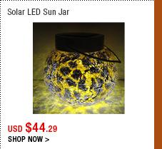 Solar LED Sun Jar