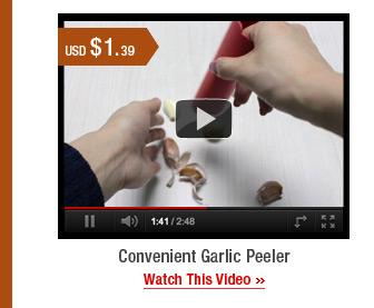 Convenient Garlic Peeler