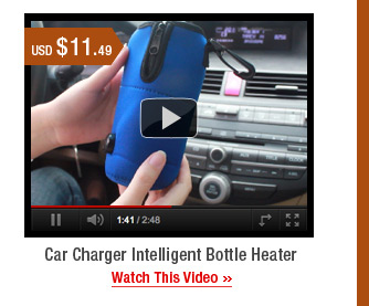 Car Charger Intelligent Bottle Heater