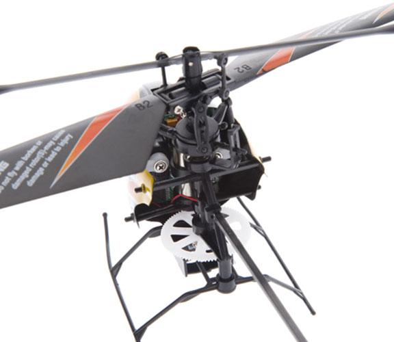 Elicottero Nero E Giallo : Elicottero telecomandato wltoys v ghz canali