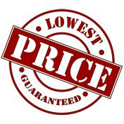 Si garantiscono i prezzi più economici