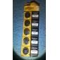 CR2032 3V Høj kapacitet Lithium knap celle batterier (5-pakke)