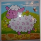 Cute Characters Wooden Jigsaw Puzzle Educational Toy (9 Pieces, Random Style)