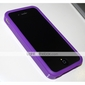 Protective Silicone Bumper for iPhone 4 (Purple)