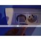 ультра-мини-1а USB адаптер питания / зарядное устройство (100 ~ 240V/EU вилкой)