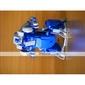 3-em-1 Solar DIY robô de brinquedo educativo kit de montagem