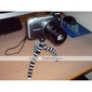 6,5-pouces écran souple trépied appareil photo numérique - orange (275g charge maxi)