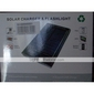 Solar Power Charger + Flashlight for iPhone 4/3G/3GS and Other Cellphones (Black, 2600 mAh)
