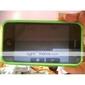 capa protetora de silicone para o iPhone 3G/3GS (verde)