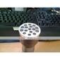 3-mode 15-ledede & uv & laser lommelykt (3x10440/3xaaa)