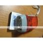 3-ledede dynamo batteri-free lommelykt (rød)