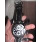 PU bande de montre-bracelet à quartz pour les hommes